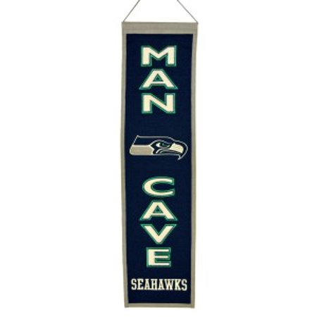 Seattle Seahawks Winning Streak Man Cave Wool Banner (8