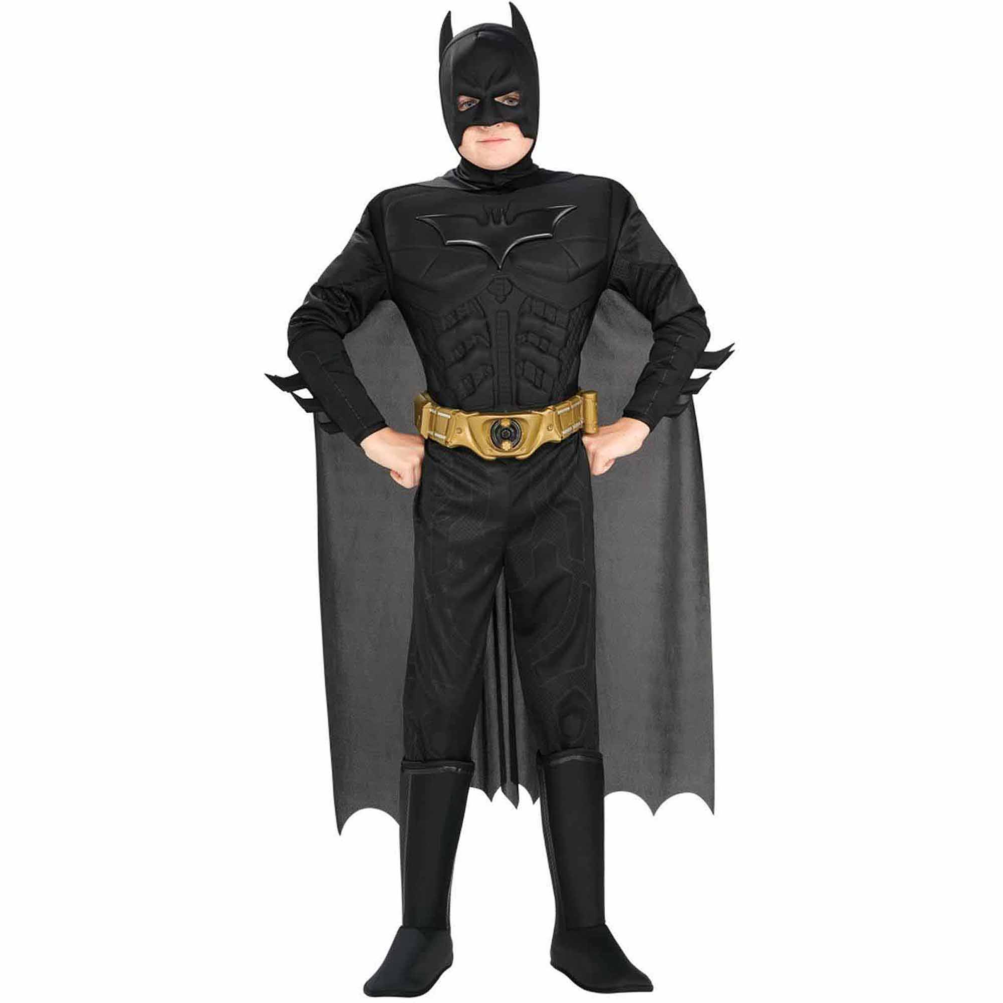 Batman The Dark Knight Rises Deluxe Muscle Chest Child Halloween Costume