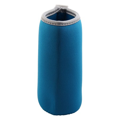 Spandex Heat Resistant Anti Scald Glass Bottle Mug Cup Cover Sleeve Navy - Blue Glass Cups