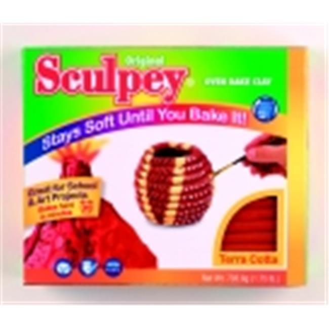 Sculpey Non-Toxic Terra Cotta Oven Bake Clay
