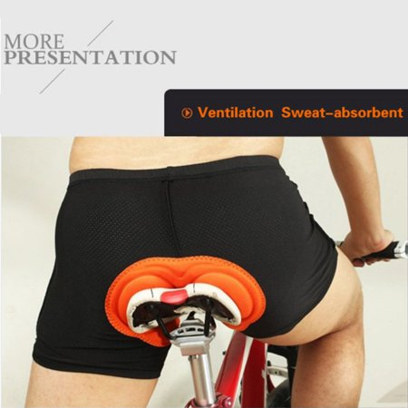 Supersellers Cycling Bike Bicycle Underwear Shorts with Padded Lightweight Breathable Unisex Men & Women Cycling Pant