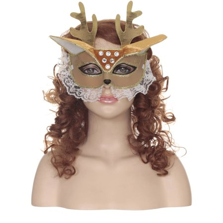 Deer Masquerade Mask Adult - Masquerade Ball Ideas For Adults