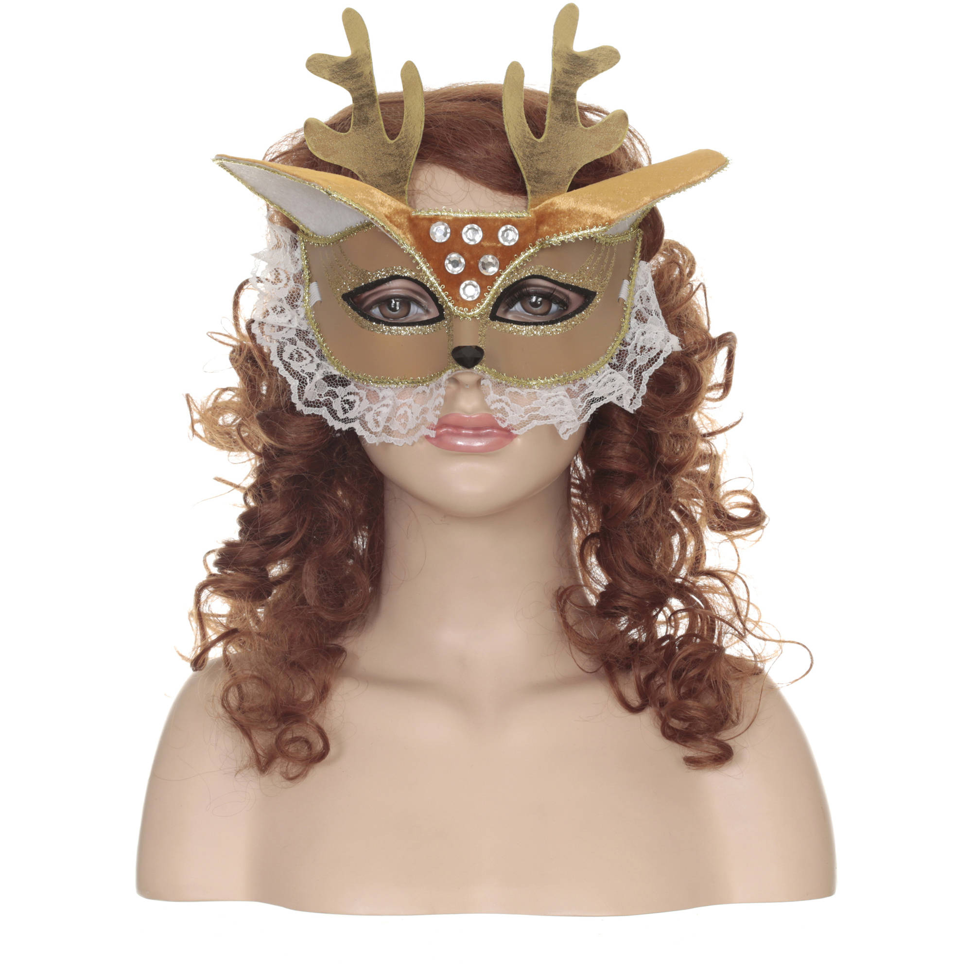 Deer Masquerade Mask Adult