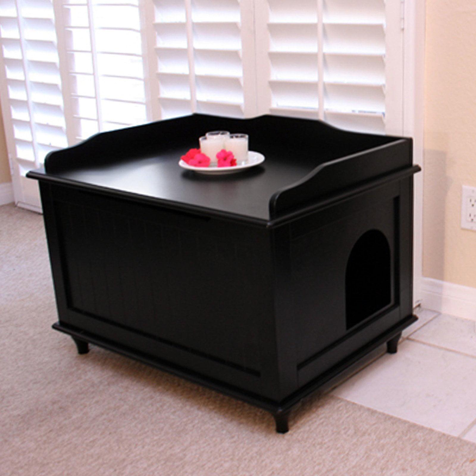 designer catbox litter box enclosure walmartcom - Cat Litter Box Enclosure