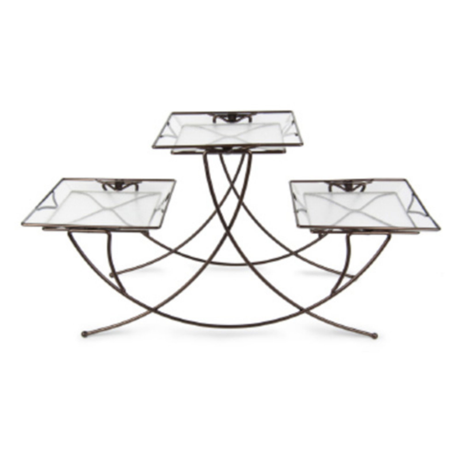 Plastec Triple Square Plant Stand by Overstock