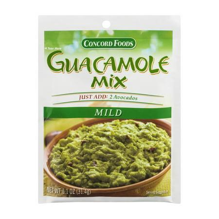 Concord Foods Guacamole Mix Recipes