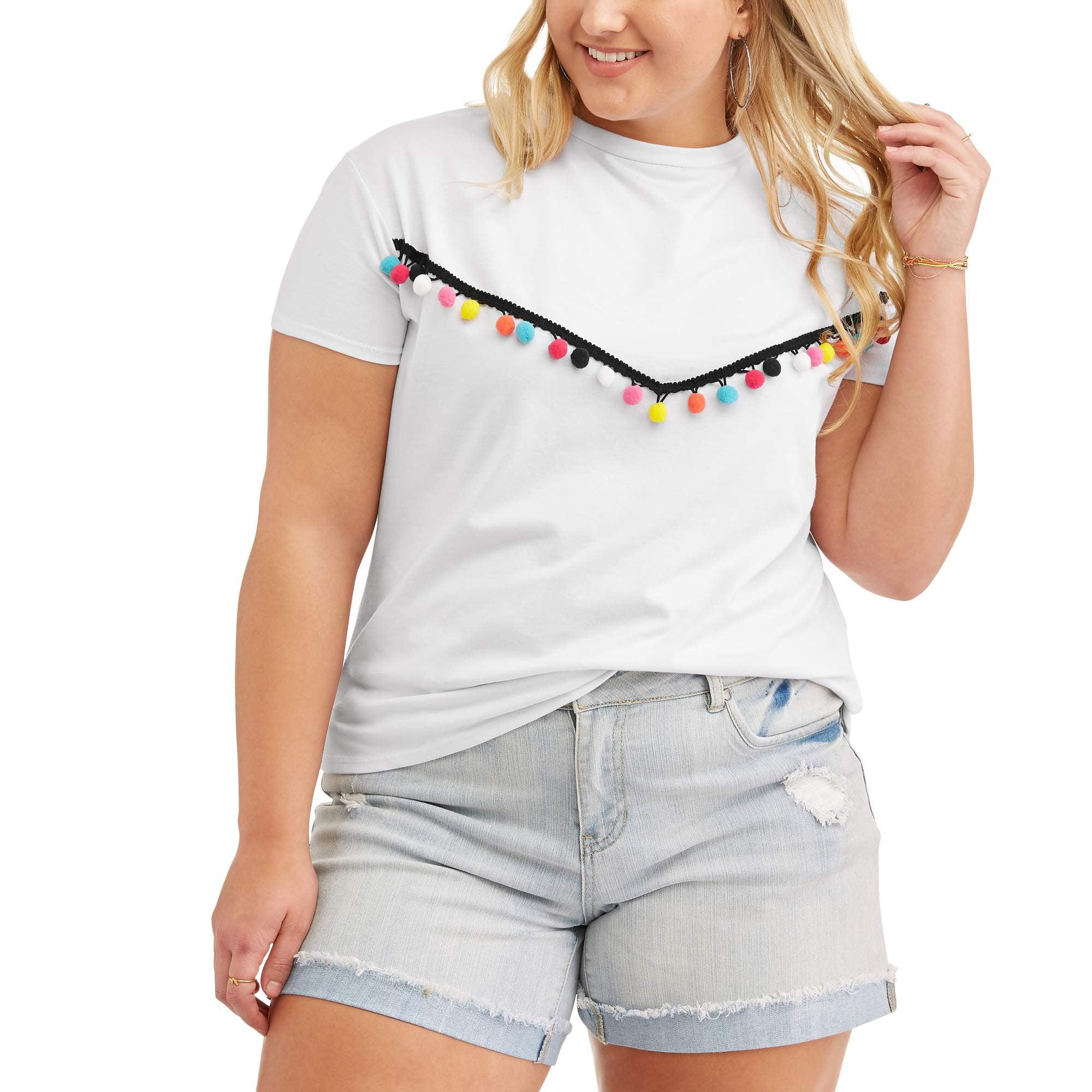 Poof Junior Plus Pom Pom T-Shirt