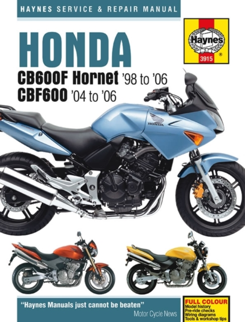 honda cb600f hornet service and repair manual haynes service and rh walmart com Owners Manual 2002 Honda F-12X Honda Aquatrax Owners Manual PDF