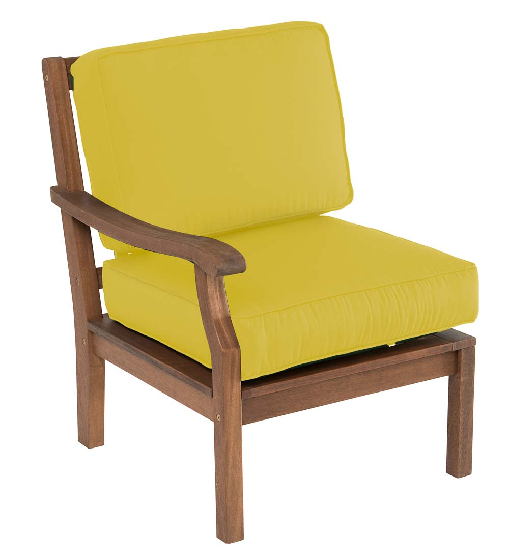 Claremont Sectional Chair with Right Arm with Cushions