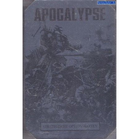 Warhammer 40K Apocalypse Strategic Asset Cards, For use with Warhammer 40K  Apocalypse By Games Workshop Ship from US