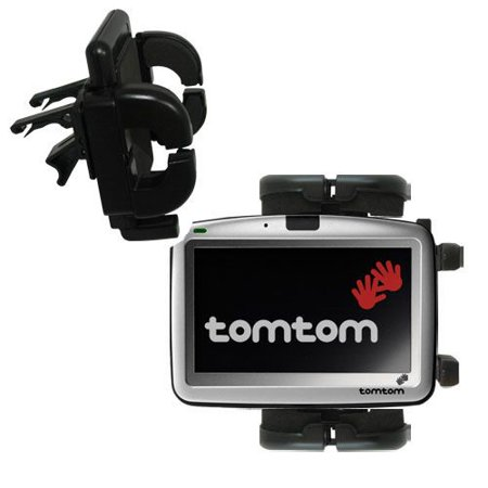 Gomadic Air Vent Clip Based Cradle Holder Car / Auto Mount suitable for the TomTom Go - Lifetime Warranty