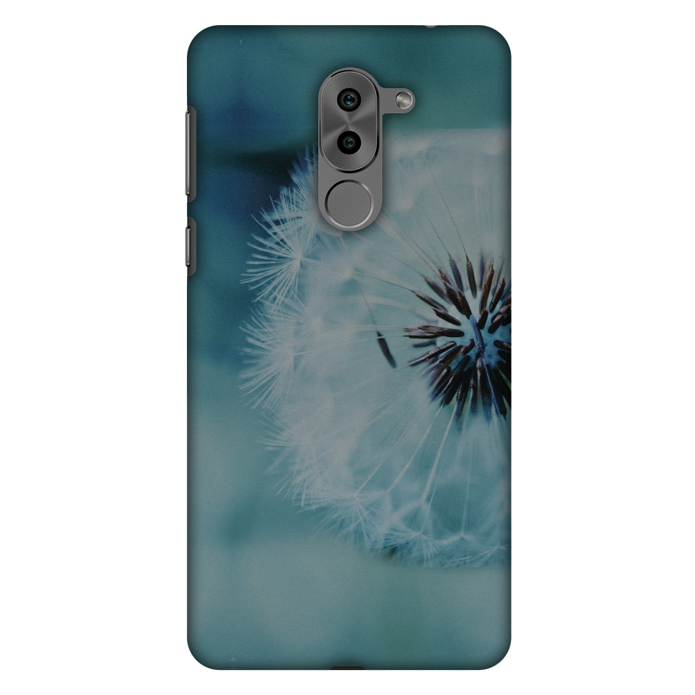 Huawei Honor 6X 2016 Case, Huawei GR5 2017 Case - Dandelion Close By,Hard Plastic Back Cover, Slim Profile Cute Printed Designer Snap on Case with Screen Cleaning Kit