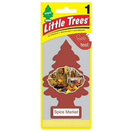 Little Spice (Little Trees Spice Market Air Freshener U1P-10284 (PACK OF)
