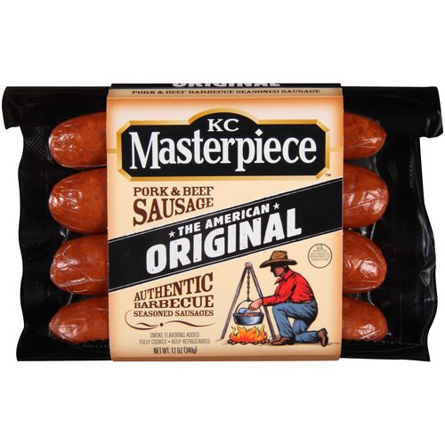 KC Masterpiece Original Pork & Beef Sausage