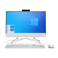 HP 22 AIO Celeron White 4GB/256GB Desktop All-In-One