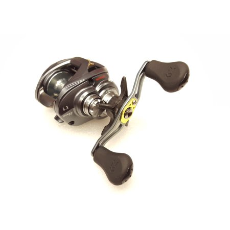 0c877ed92fa Daiwa Steez TW A-Series 6.3:1 Right Hand Baitcast Fishing Reel -  STEEZATW1016H - Walmart.com