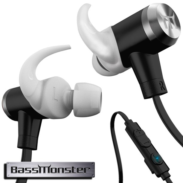 Bassmonster Rx290 Wireless Bluetooth Headphones Walmart Com Walmart Com