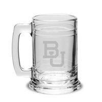 Boston University Deep Etched Colonial Deep Etched Beer Tankard