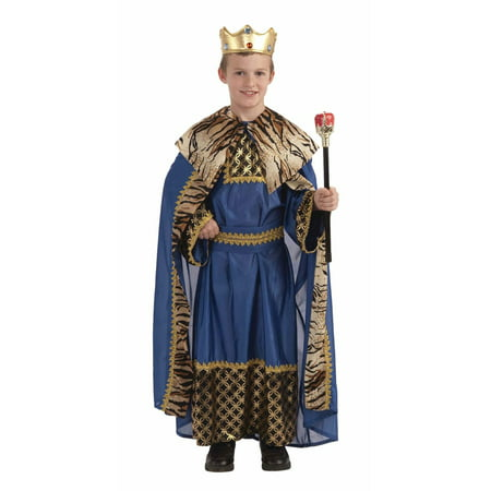 King of the Kingdom Boy's Deluxe - Jareth Goblin King Costume