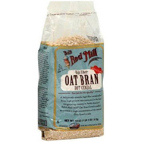 Bob's Red Mill Hot Cereal, Oat Bran,18 Oz (Pack Of 4)