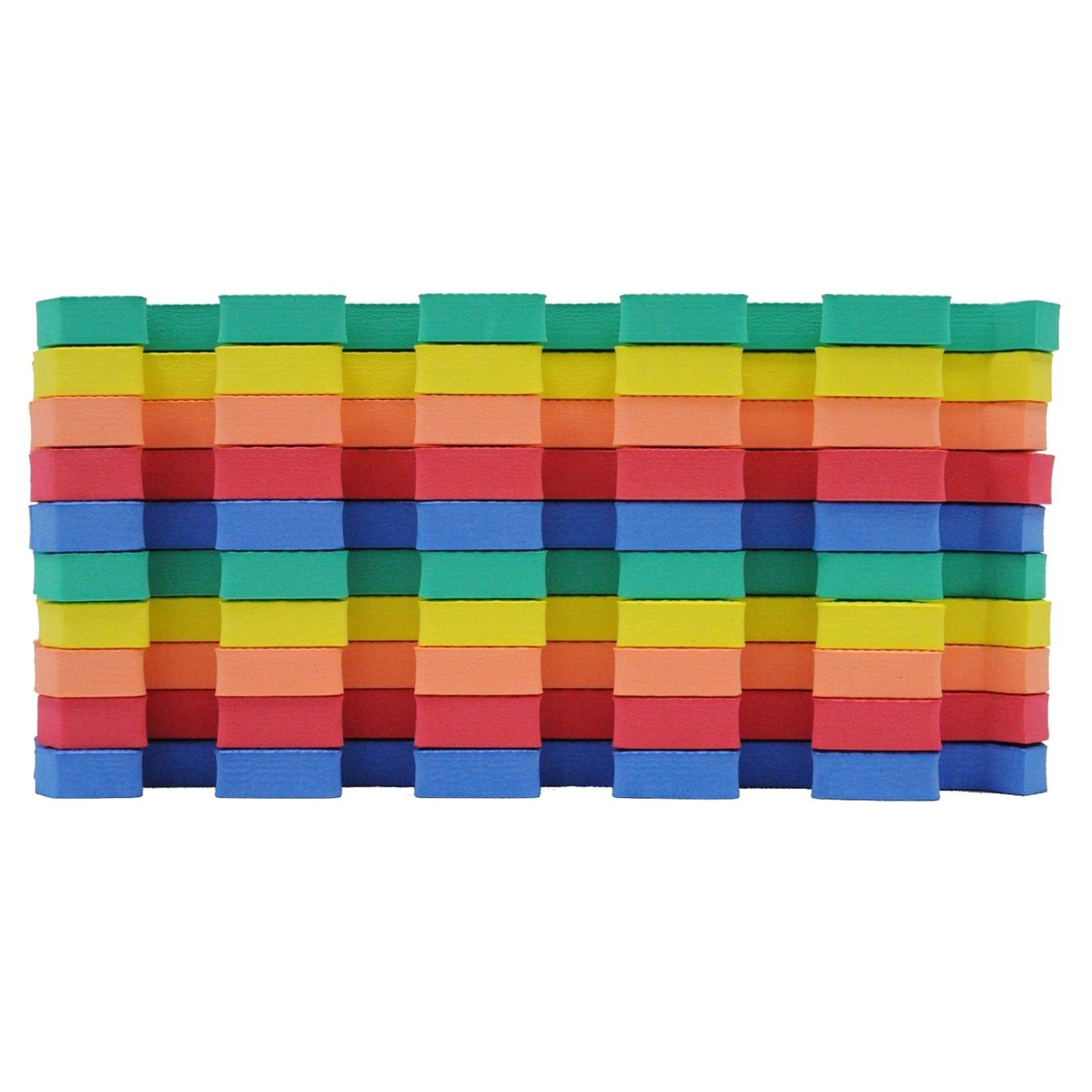 rainbow interlocking eva foam baby mat playmat children crawling  - rainbow interlocking eva foam baby mat playmat children crawling playingfloor  pcs  walmartcom