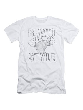 d6f4f5d55b9b36 Product Image Johnny Bravo Cartoon Network Series Bravo Style Sketch Adult  Slim T-Shirt Tee