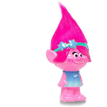 Trolls  Poppy  Figural Ceramic Piggy Bank
