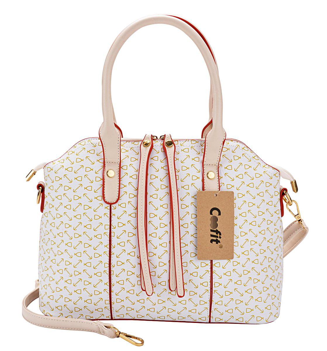 04a6e3b9e3 Coofit - Coofit 4Pcs Purses and Handbags Faux Leather Clutch Shoulder Bags  Wallets for Women - Walmart.com