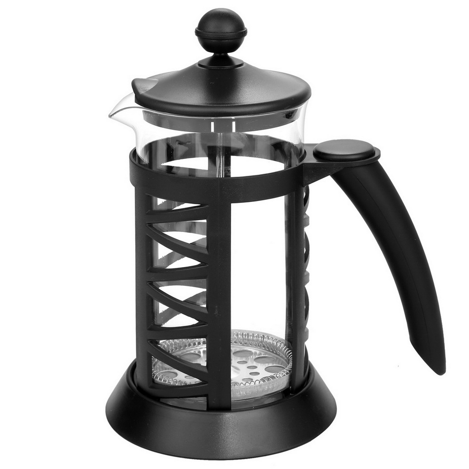 8 cup French Press Tea Cafetiere Cup Frame Glass Coffee Maker 34oz