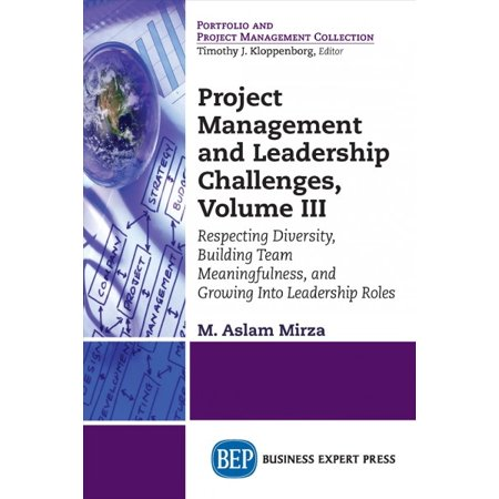 Project Management and Leadership Challenges, Volume III : Respecting Diversity, Building Team Meaningfulness, and Growing to Leadership Roles