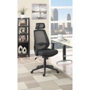 Simple Relax Mesh Back Caster Office Chair, Black