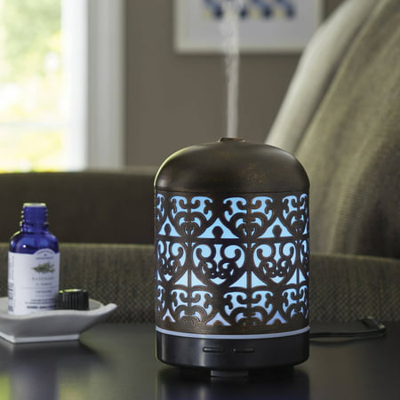 790 Diffuser (Better Homes & Gardens 100 mL Moroccan Scroll Essential Oil Diffuser )