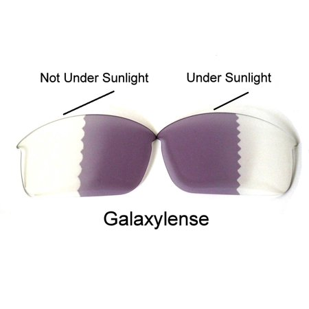 Galaxy Replacement Lenses for Oakley Bottle Rocket Photochromic Transition Change To Darker Grey