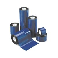 "Thermal Transfer Ribbon - Wax 4.33"" X 1476' (110mm X 450m) Black 24 Rolls/Case (ZEBRA Printer)"