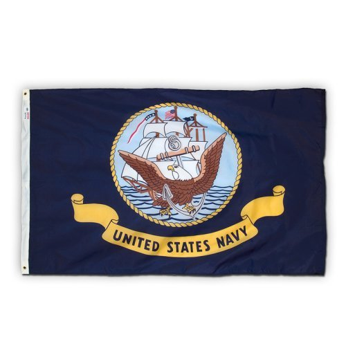 Navy Flag 3x5ft Nylon