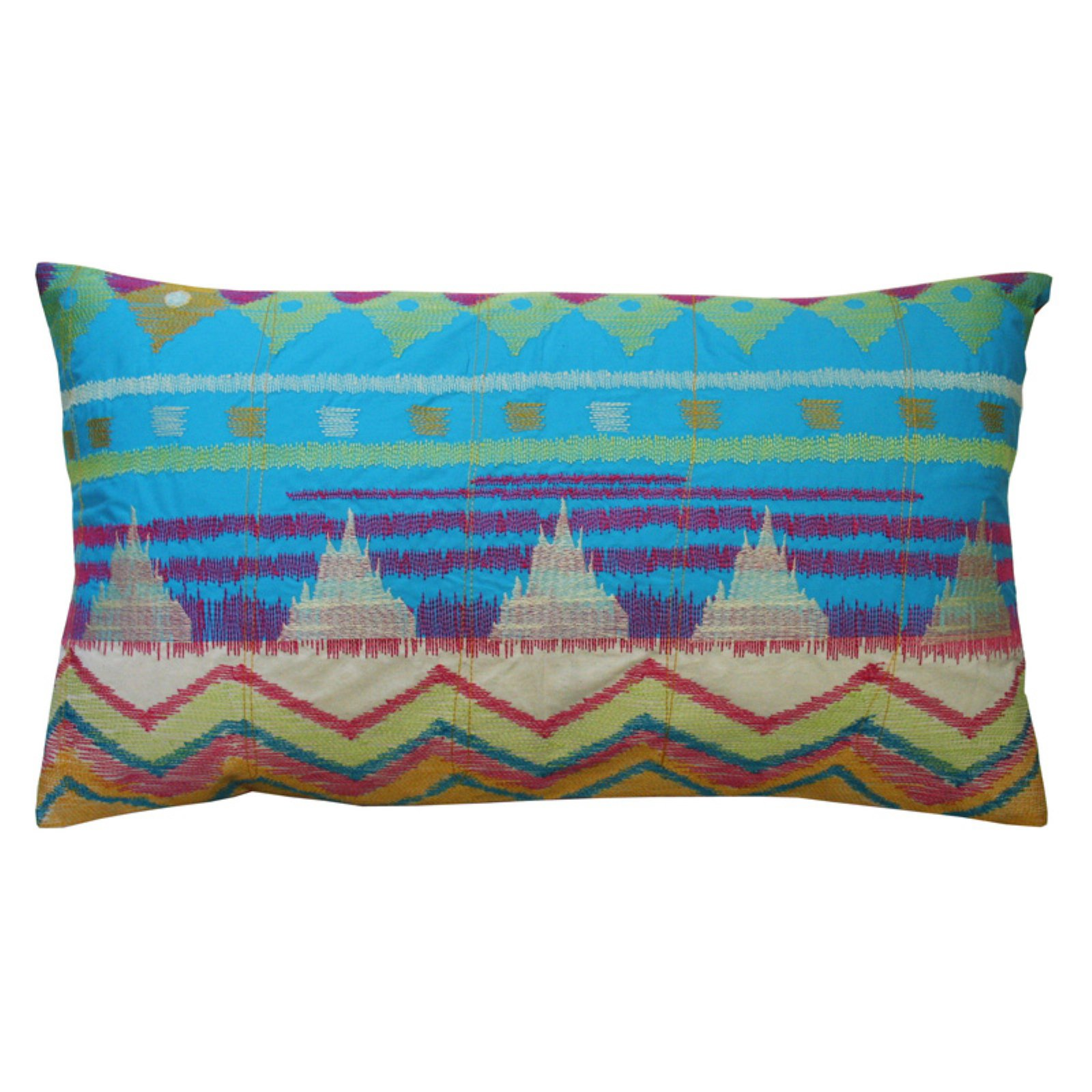 Koko Company Java Bright Ikat Decorative Pillow
