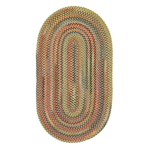 Capel High Rock 0103XS Braided Rug - Gold