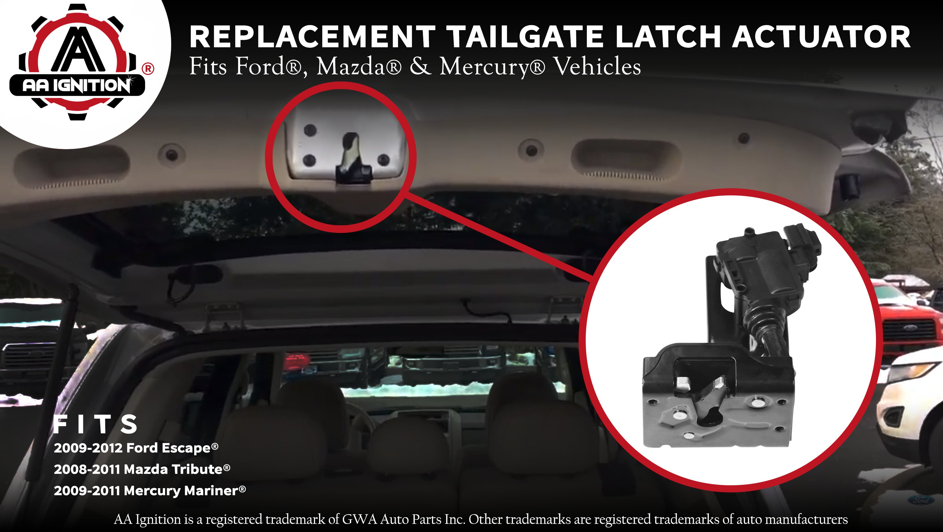 SMLTH Quality Саdillас Chevrolt GМС Rear LIFTGATE Latch Release Switch New OEM 15106857