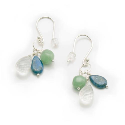 Healing Waters Earrings by Women's Bean Project