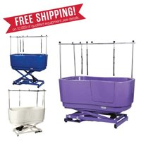 Master Equipment Me Poly Pro Lift Grooming Tub Pur