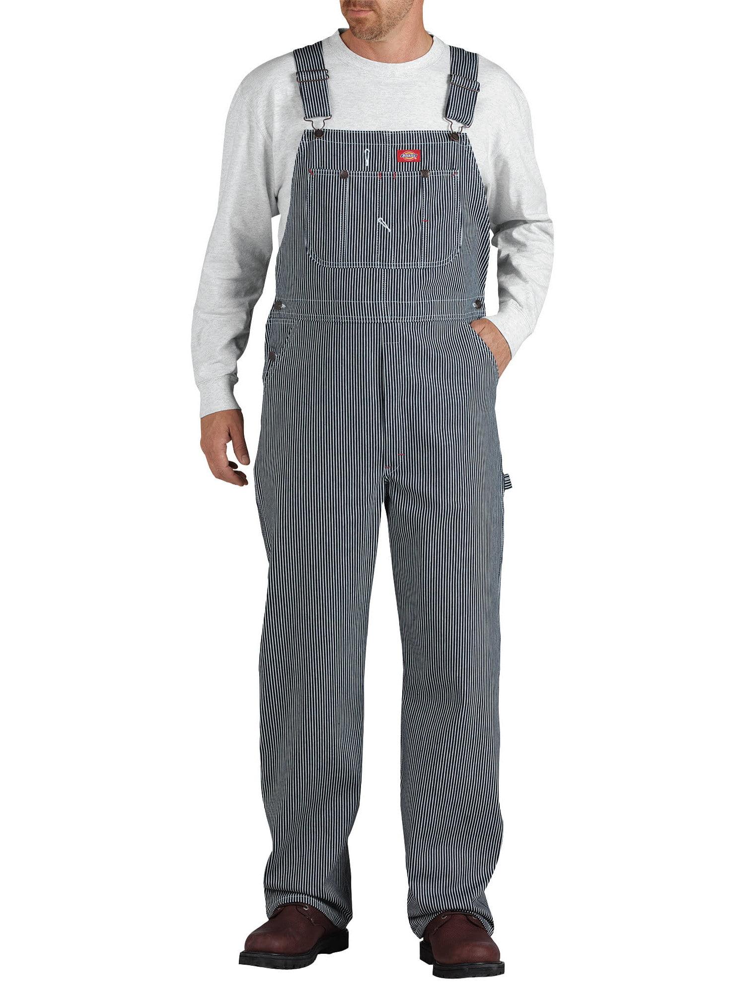 Men's Hickory Stripe Bib Overall