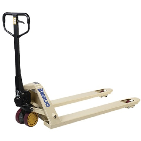 """Manual Hydraulic New Pallet Jack 272655 CPI 21"""" W x 36"""" L forks 5500# Cap."""