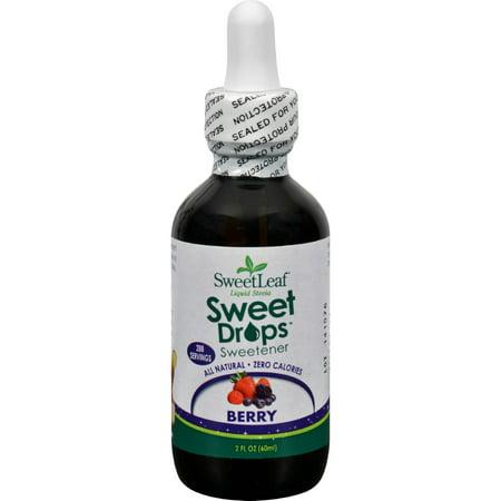 Sweet Leaf Liquid Stevia - Berry - 2 Ounce