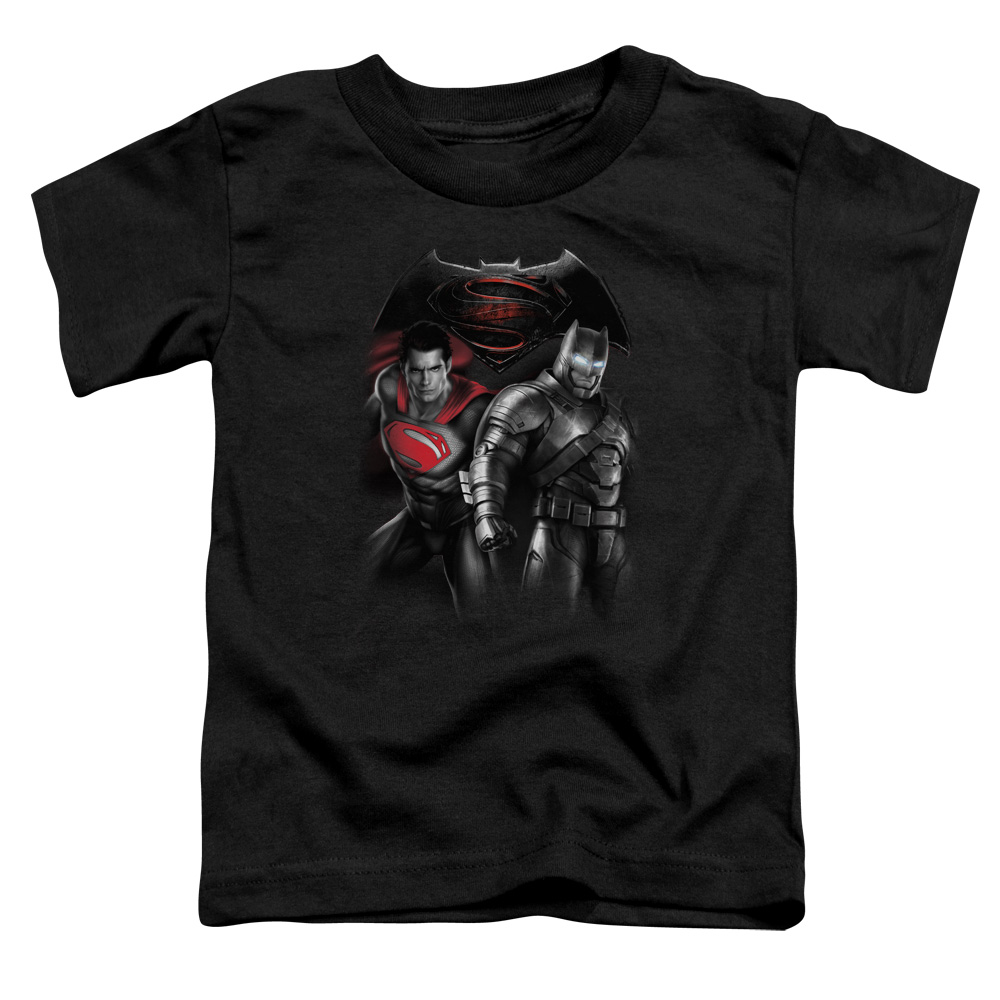 Batman Vs Superman Stand Off Little Boys Shirt