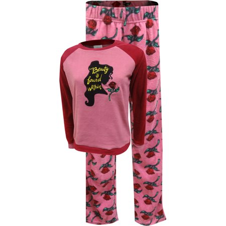 Disney Beauty And The Beast Belle's Silhouette Fleece (Best Pajamas For Menopause)