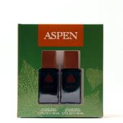 ASPEN MEN by COTY- 1.7 SPRAY (2) COLOGNE SPRAY SET