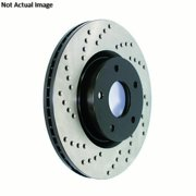 StopTech 128.46048R StopTech Sport Rotors; Drilled; Rear Right;11.18 in. Dia.; 2.36 in. Height;