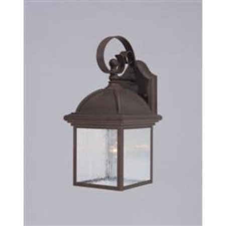 Westinghouse 69395 Textured Rust Patina 1 Light Outdoor Wall Sconce From The Exteriore Textured Rust Patina Post Lights