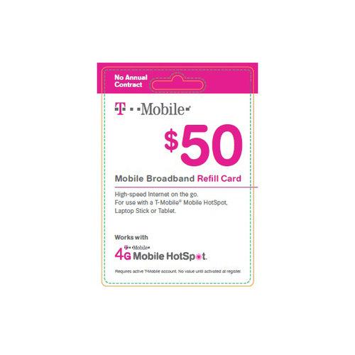 T-Mobile Broadband $50 Card