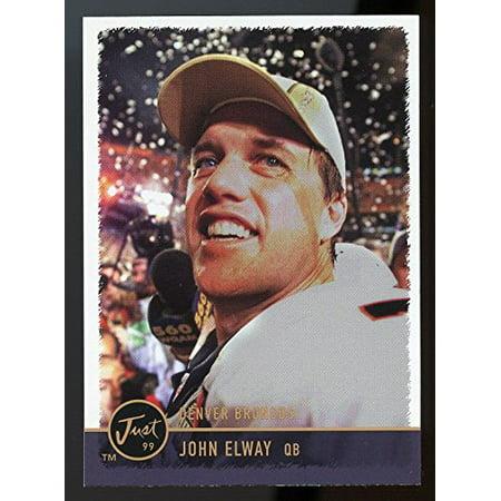 1999 Just #82 John Elway Super Bowl Denver Broncos NFL Commemorative